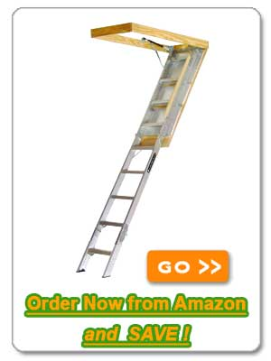 The Louisville Ladder AA229GS – The Easy Way to Reach Your Attic and Storage Spaces