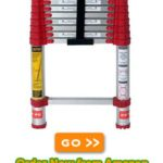 The Xtend & Climb 760P Telescoping Ladder, 10.5-foot Reaches Areas No Other Ladder Can Reach
